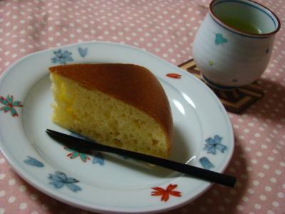 ゆず茶ケーキ♪
