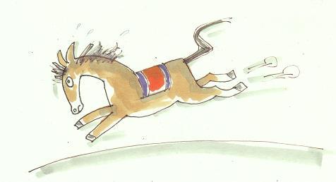走る馬―ブログ