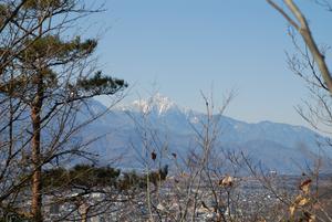 甲府盆地と甲斐駒が岳5
