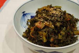 高菜漬物の唐辛子炒め6