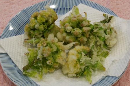 蕗の薹天ぷら1