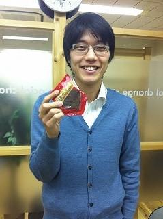 kobayashi with chocolate