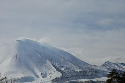 浅間牧場からの浅間山 (1 - 1)