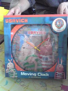 ウサビッチの時計