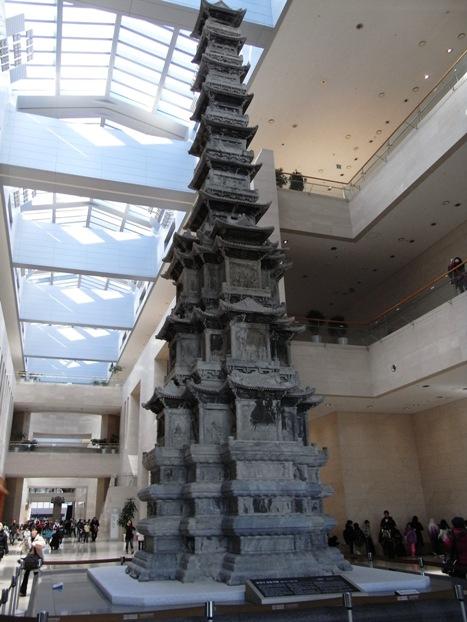 ソウル国立中央博物館 敬天寺十層石塔「国宝86号」
