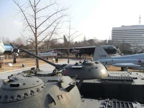 戦争記念館 屋外展示