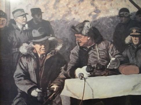 戦争記念館 展示絵画