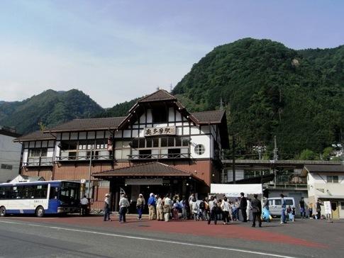 JR青梅線 奥多摩駅