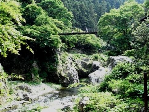 鳩ノ巣小橋