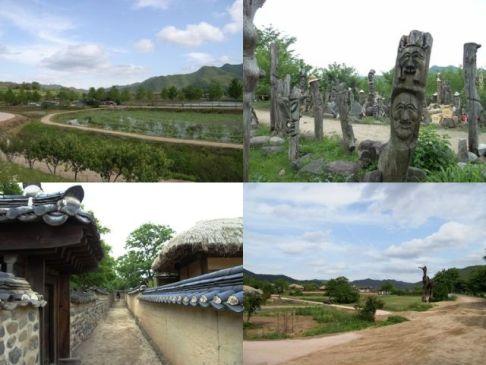 安東河回村 風景