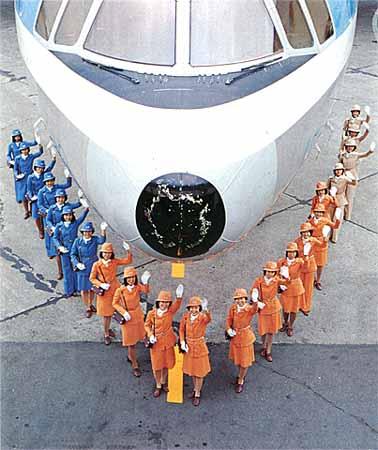 ロッキードL-1011とトラスタスールック