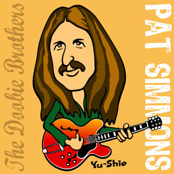 Pat Simmons of The Doobie Brothers