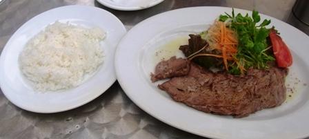 牛肉のアマトリチャーナ