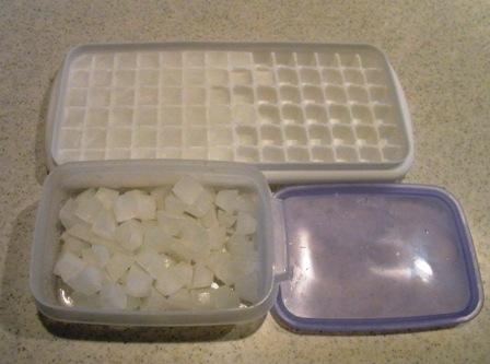 ヤギミルク氷