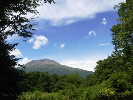 浅間山を見ながら・・・