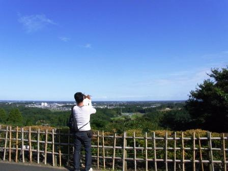 昭和の森公園見晴らしの丘