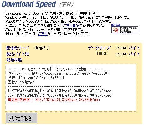 下り速度:ワイヤレスゲート@N700系新幹線