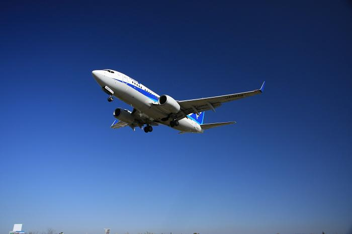 伊丹空港より、1