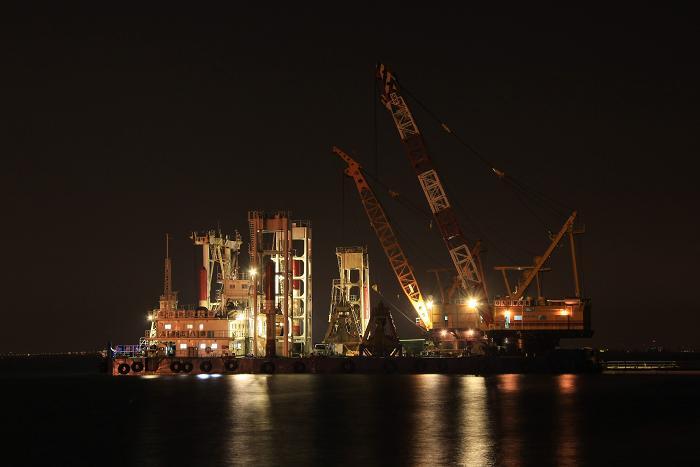神戸港、1
