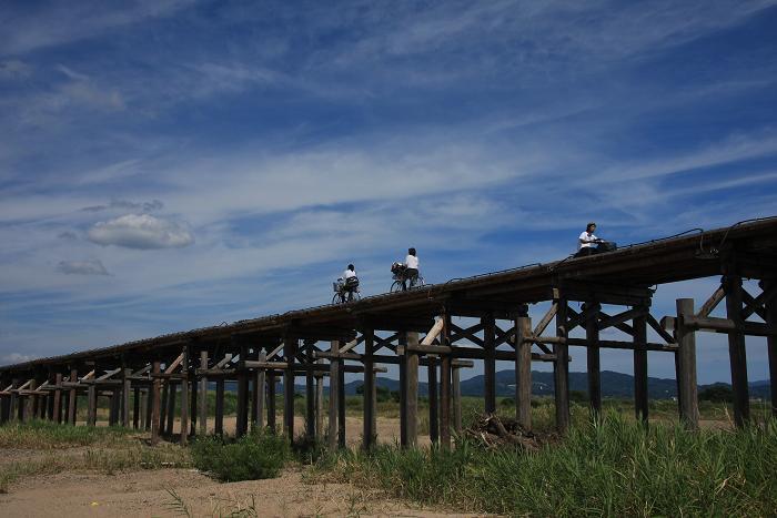 流れ橋、2