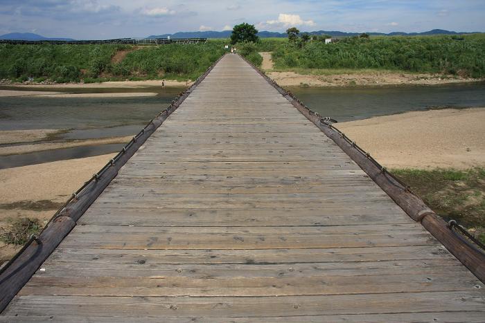 流れ橋、4