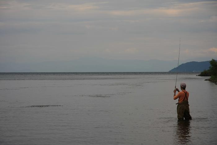 琵琶湖より、3