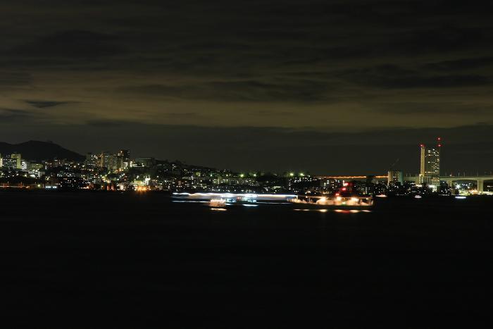明石港より、3