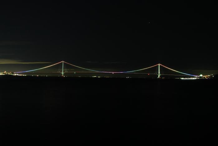 明石港より、2