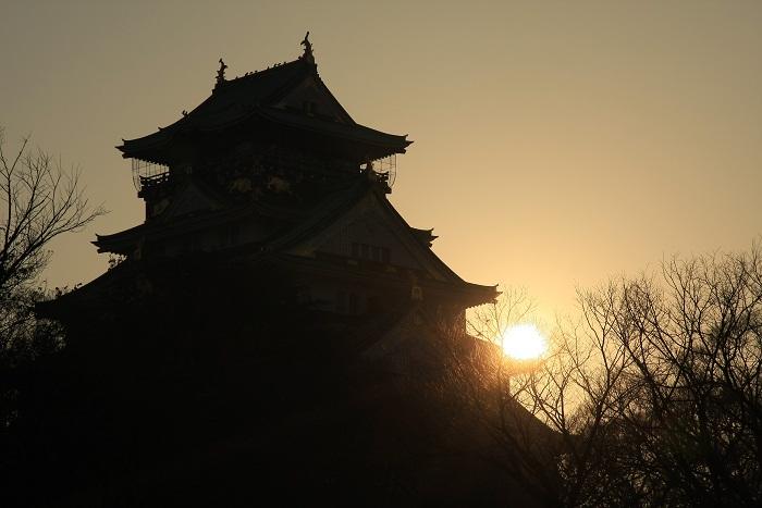 大阪城より、5