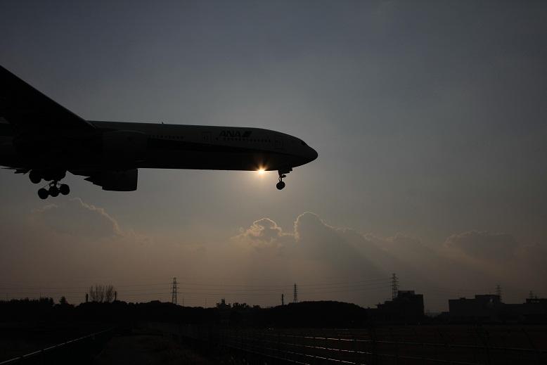 伊丹空港にて、2