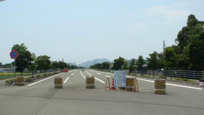 国道195号あけぼの街道(南国バイパス)南国市上末松付近の開通イメージ
