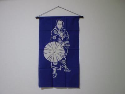 歌舞伎タペストリー