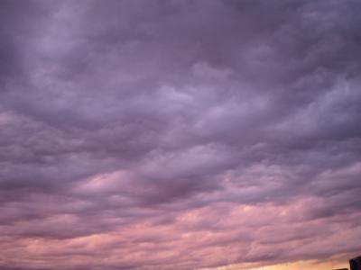 アメジスト色の空