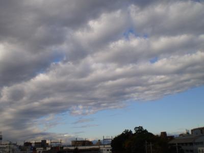 青空とうろこ雲