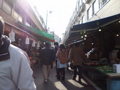 仙台の朝市