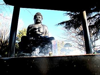 2010年 東京大仏 初詣