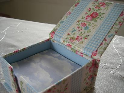 memo box open