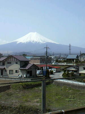 車窓から富士山2