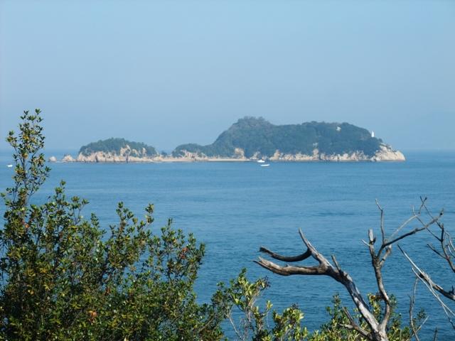 香川庵治町・稲毛島(夢の島)