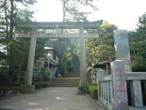 真鶴貴船神社,来宮神社、三石1