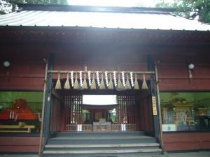 富士吉田口浅間神社・山神社14