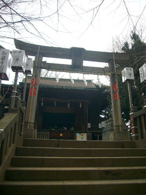 スサノオ神社・白山・湯島天神1