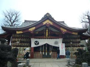 スサノオ神社・白山・湯島天神2