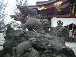 スサノオ神社・白山・湯島天神4