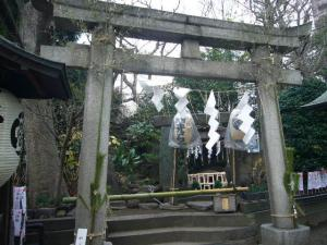 スサノオ神社・白山・湯島天神5