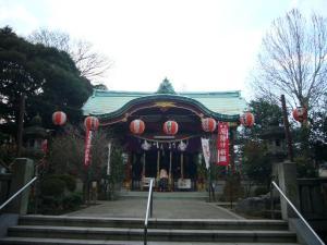 スサノオ神社・白山・湯島天神6