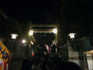 守戸神社(2010年1月1日)1