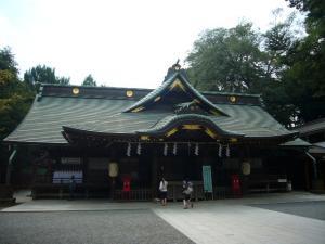 江戸五社めぐり(2010年9月6日)1