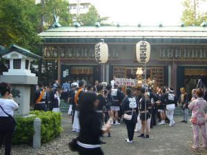 氷川神社お祭り(2010年9月19日)1