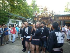 氷川神社お祭り(2010年9月19日)2
